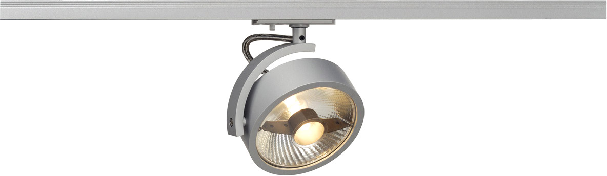 slv kalu track qpar111 leuchten kopf silber inkl 1p adapter g nstig bei ltt. Black Bedroom Furniture Sets. Home Design Ideas