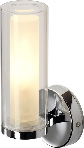 AlphaPlan-Artikel: SLV Wandleuchte, WL 105 E14, chrom, Doppelglas, E14, max. 40W