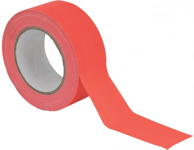 AlphaPlan-Artikel: ACCESSORY Gaffa Tape 50mm x 25m neonorange UV-aktiv