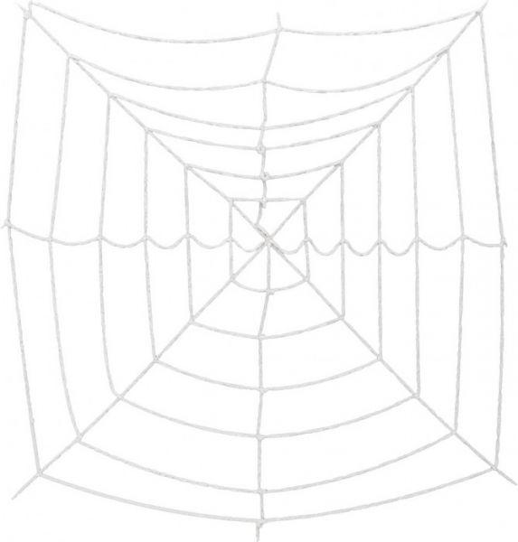 EUROPALMS Halloween Spinnennetz, 180x180cm