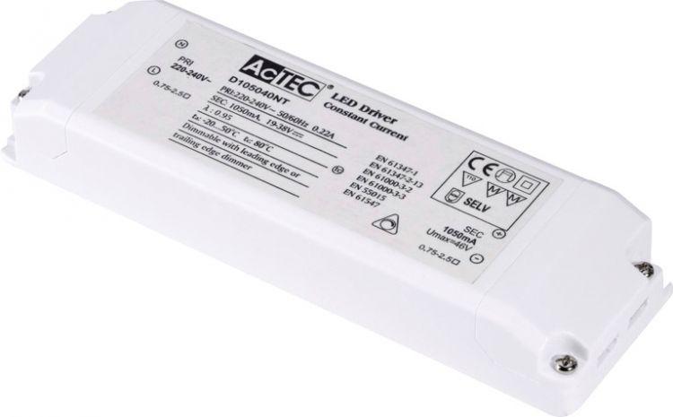 SLV LED Treiber 40W, 1050mA, dimmbar