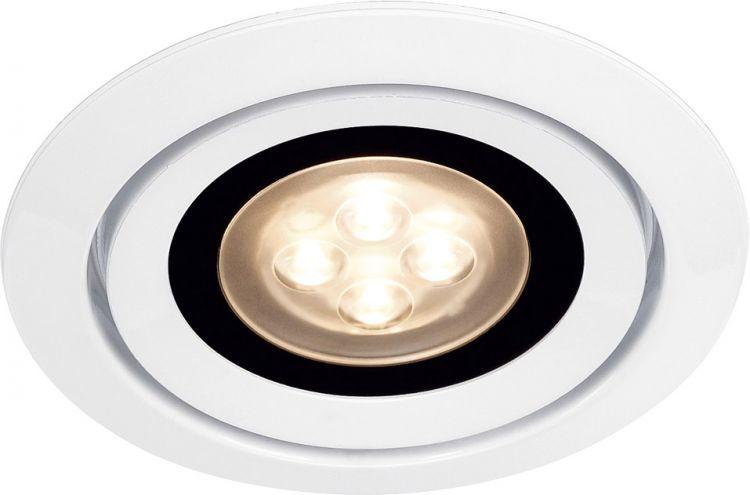 AlphaPlan-Artikel: SLV LUZO INTEGRATED LED, Deckeneinbauring, rund, weiss, 3000K, 36°