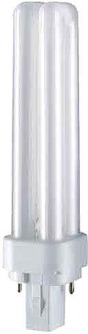 Osram Leuchtstofflampe G24D-2 DULUX D 18W/830