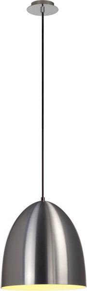 SLV PARA CONE 30 Pendelleuchte, rund, alu-gebürstet, E27, max. 60W