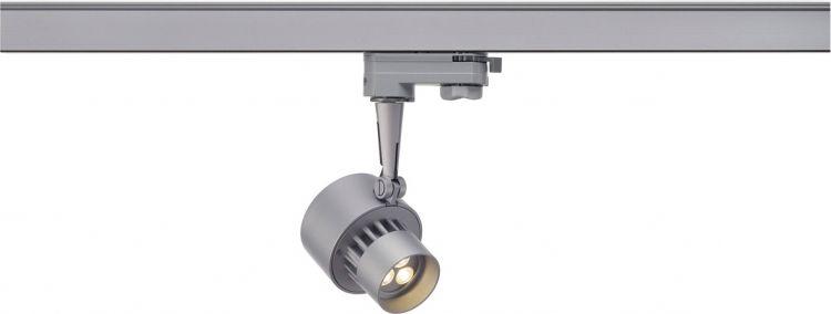 AlphaPlan-Artikel: SLV LED TRACKSPOT, silbergrau, 3x3W, warmweiss, 10°, inkl. 3P.-Adapt
