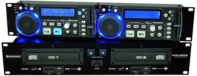 AlphaPlan-Artikel: OMNITRONIC XDP-2800 Dual-CD-/MP3-Player