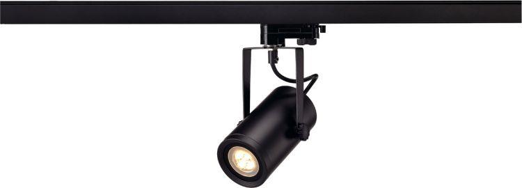 AlphaPlan-Artikel: SLV EURO SPOT INTEGRATED LED, 2700K, 15°, inkl. 3P.-Adapter, schwarz