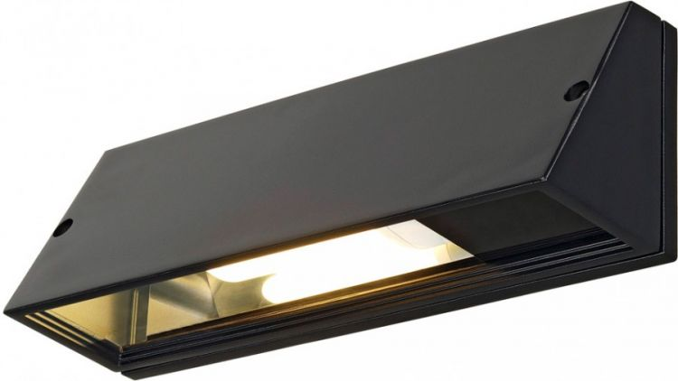 AlphaPlan-Artikel: SLV PEMA SQUARE Wandleuchte, schwarz, E27, max. 15W -B-Stock-