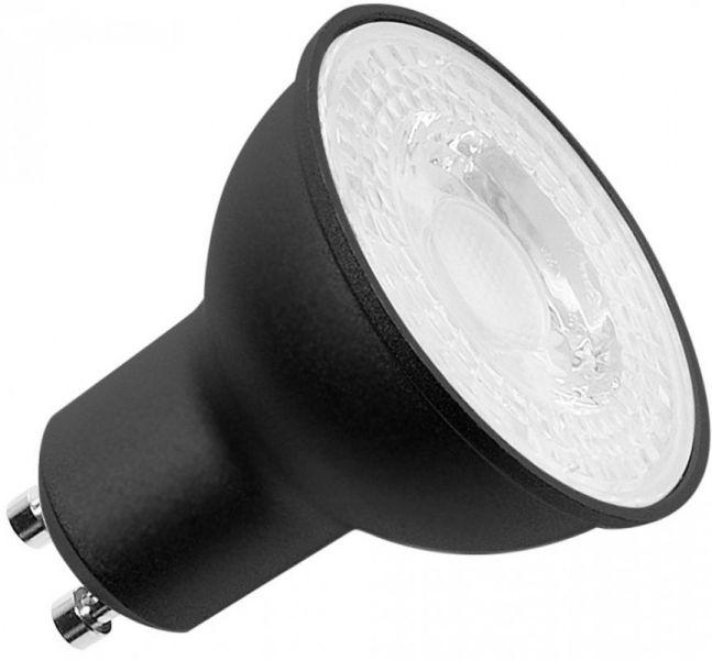 SLV LED Leuchtmittel, QPAR51, GU10, 7,2W, 36°, 2700K schwarz