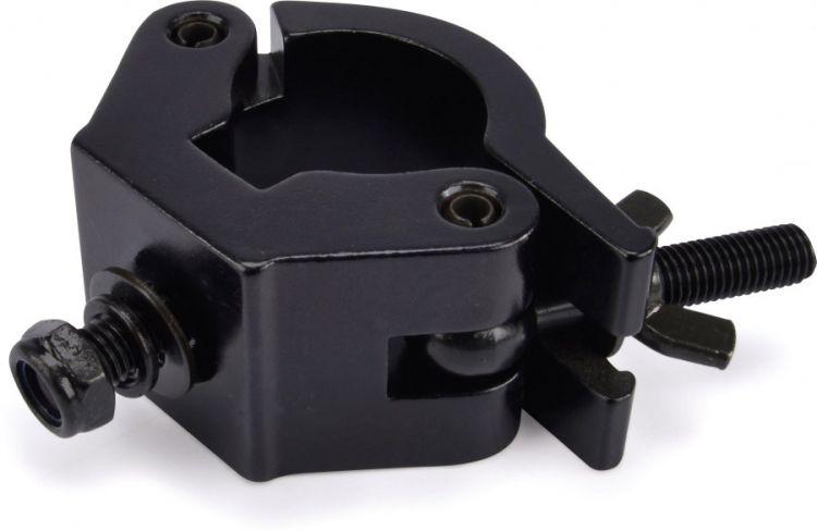 Riggatec Halbschelle - Halfcoupler Schwer Schwarz bis 750kg (48 - 51 mm)
