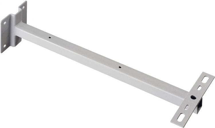 SLV WANDHALTER für OUTDOOR BEAM und MILOX, silber, 50 cm