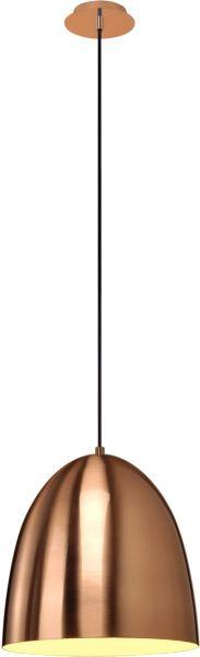 AlphaPlan-Artikel: PARA CONE 30 Pendelleuchte, rund, kupferfarben/gebürstet, E27, max. 60W