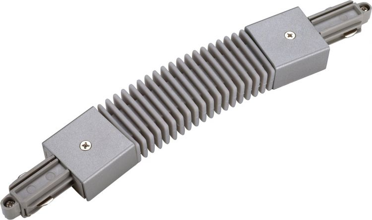 SLV Flexverbinder für 1-Phasen HV-Stromschiene, silbergrau