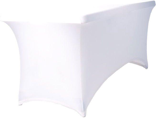AlphaPlan-Artikel: Tisch Husse weiß 170 - 200cm rechteckig Stretch