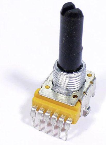 Poti B203 2x 20KOhm 6-Pin LS-622A