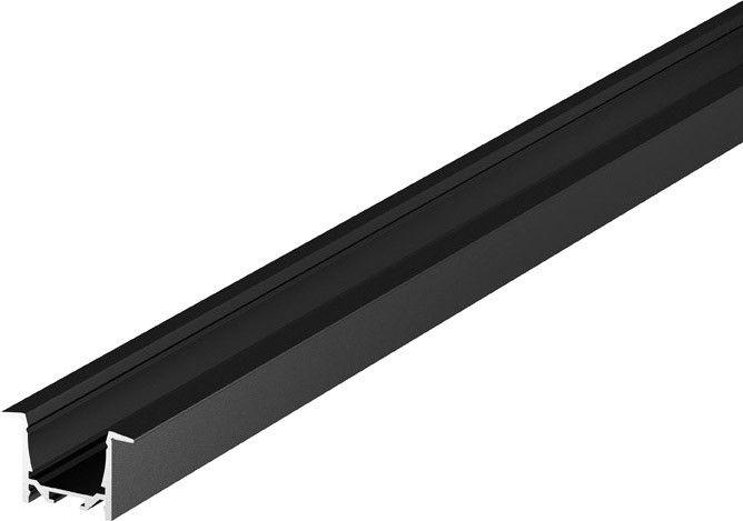 SLV GRAZIA 20, Einbauprofil, LED, 2m, schwarz