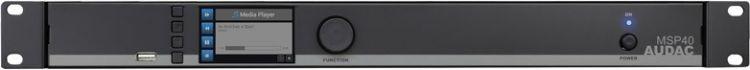 Audac MSP 40 Media Player / Recorder