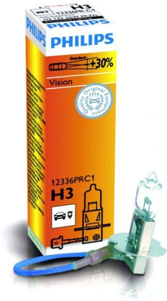 Philips Autolampe H3 Vision C1 55W 12V PK22s 12336PRC1
