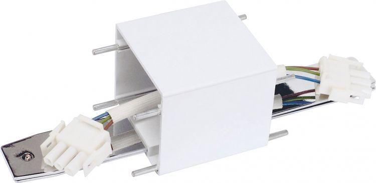 SLV Q-Line Längsverbinder, weiß