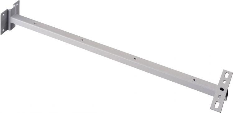 SLV WANDHALTER für OUTDOOR BEAM und MILOX, silber, 80 cm