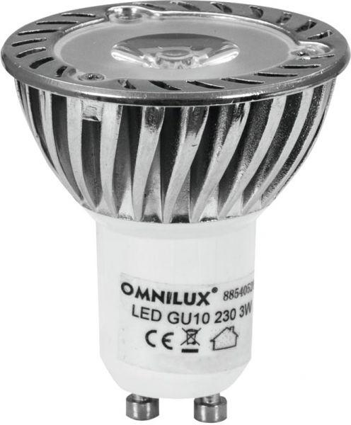 OMNILUX GU-10 230V 1x3W LED gelb