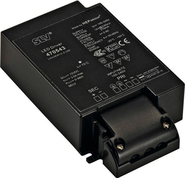 SLV LED-Netzteil, 36W, 12V
