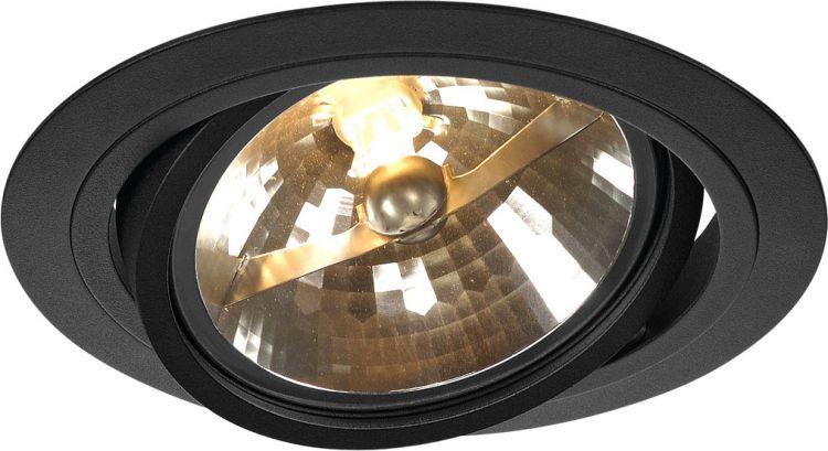 AlphaPlan-Artikel: SLV NEW TRIA CDM-R Downlight, rund, ES50, mattweiss, GX10
