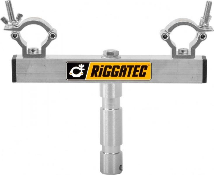 AlphaPlan-Artikel: Riggatec Stativaufnahme bis 75 kg mit 28 mm TV Zapfen