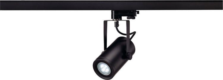 AlphaPlan-Artikel: SLV EURO SPOT INTEGRATED LED, 4000K, 36°, inkl. 3P.-Adapter, schwarz