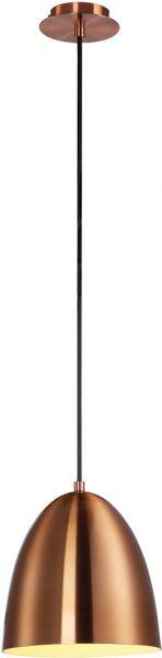AlphaPlan-Artikel: PARA CONE 20 Pendelleuchte,rund,Ø20cm,kupferfarben/gebürstet, E27,max.60W