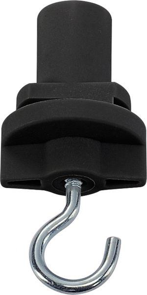SLV HAKEN für S-TRACK Hochvolt 3Phasen-Aufbauschiene, schwarz