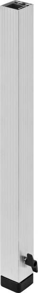 Bullstage Teleskopfuß vierkant 60x60mm - Höhe 100 bis 180 cm -Demoware-