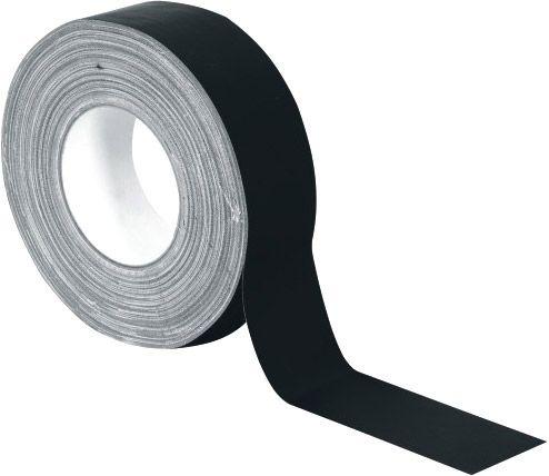 ACCESSORY Gaffa Tape Pro 50mm x 50m schwarz matt