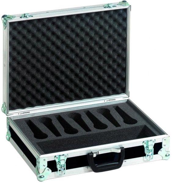 ROADINGER Mikrofon-Case Road 7 Mikrofone schwarz