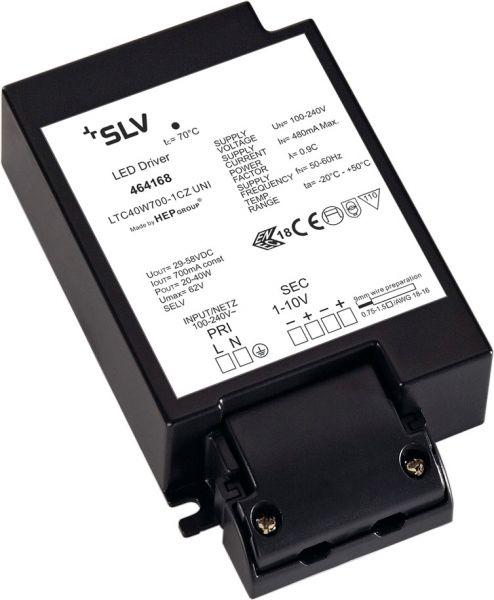SLV LED-Treiber, 40W, 700mA, inkl. Zugentlastung