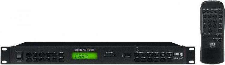 IMG STAGE LINE DPR-110 Audio-Spieler/Rekorder