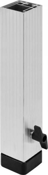 AlphaPlan-Artikel: Bullstage Teleskopfuß vierkant 60x60mm - Höhe 40 bis 60 cm