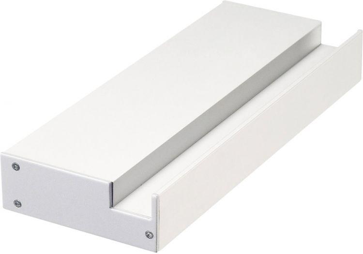 SLV GLENOS Profi-Wandträger-Profil, weiß matt, 20cm, inkl. Endkappen