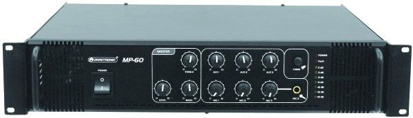 AlphaPlan-Artikel: OMNITRONIC MP-60 ELA-Mischverstärker