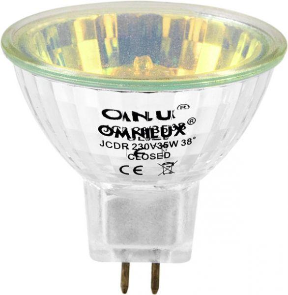 OMNILUX JCDR 230V/35W GX-5,3 1500h gelb