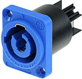 Neutrik NAC 3 MPA-1 Powercon Buchse blau