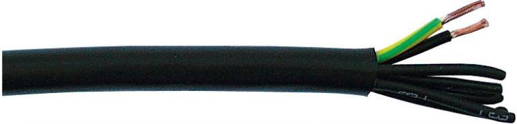 AlphaPlan-Artikel: DAP 240V Stromkabel Multi 7x 1,5 mm2, Schwarz (P715) Preis pro m