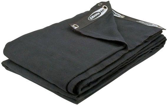 Showtec Backdrop Black  6 m (W) - 3,5 m (H)