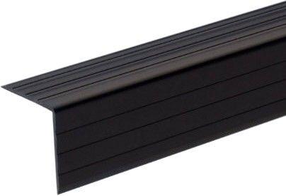 Adam Hall Hardware 6605 Kunststoff-Kantenschutz 30 x 30 mm schwarz