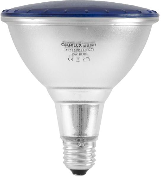 OMNILUX PAR-38 230V SMD 15W E-27 LED blau