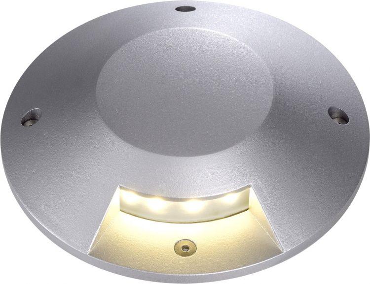 SLV Abdeckung für BIG LED PLOT ROUND, 1 Beam, silbergrau