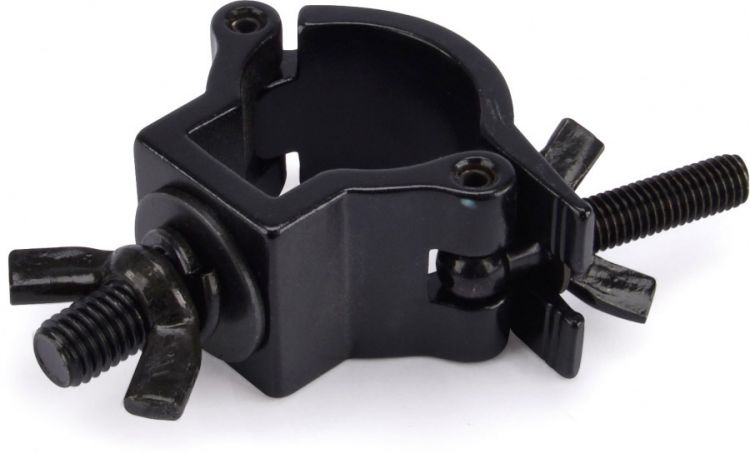 AlphaPlan-Artikel: Riggatec Halbschelle - Halfcoupler klein schwarz bis 75 kg (32 - 35 mm)
