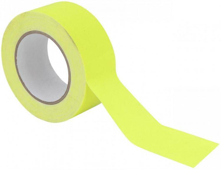 AlphaPlan-Artikel: ACCESSORY Gaffa Tape 50mm x 25m neongelb UV-aktiv