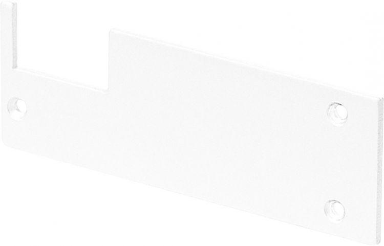 SLV ENDKAPPEN für GLENOS Profi-Wandträger-Profil, weiß matt, 2 Stück