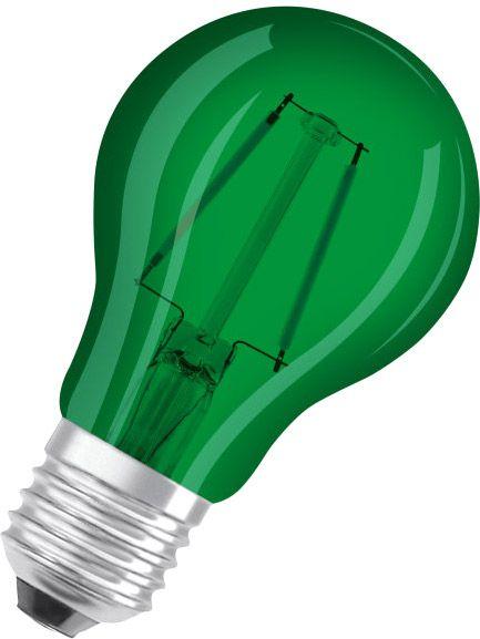 Osram LED STAR DECO CLASSIC A 15 300° 1.6 W/3000 K E27 Grün